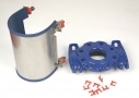 Flanged saddle DN80 and DN100