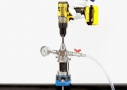 Automatic drill for clean water pipes
